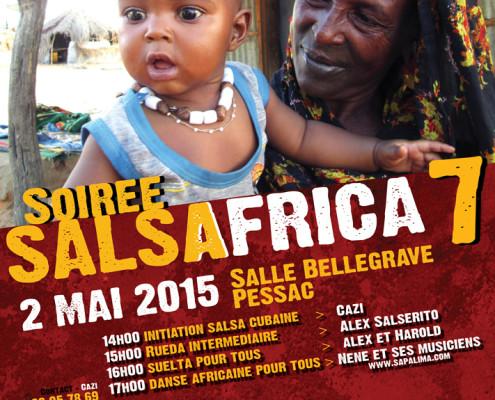 Affiche Salsafrica 2015